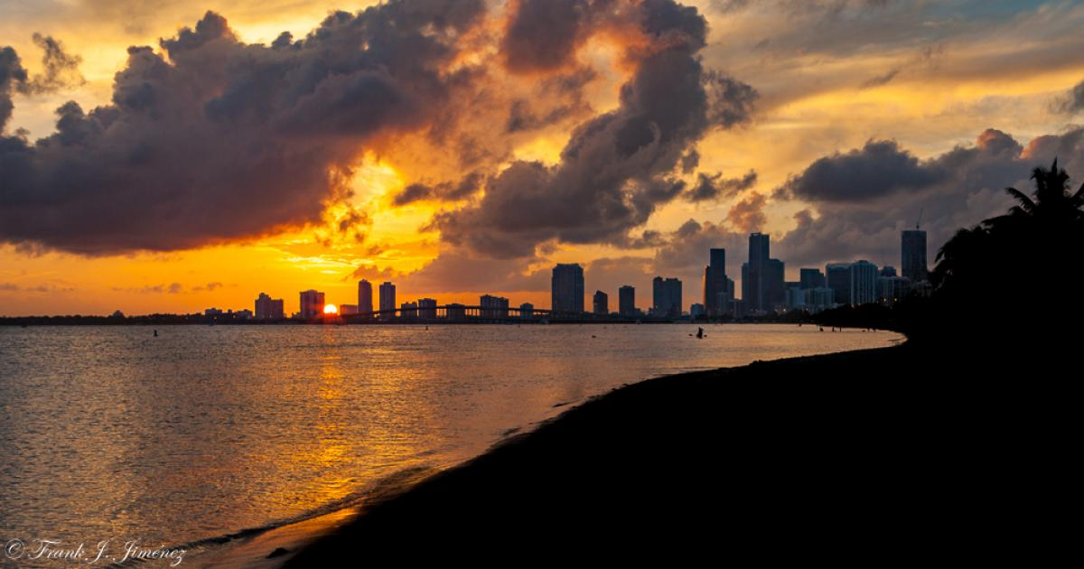 Sunset from Macarthur Causeway