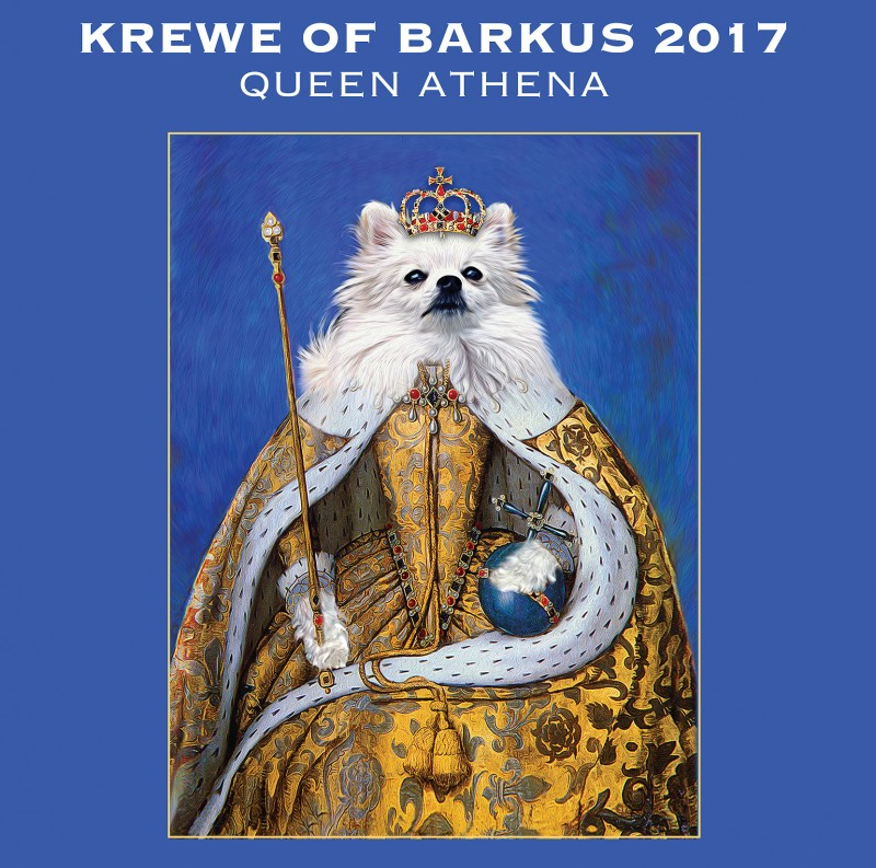 Krewe of Barkus 2017 parade rolls in New Orleans, Louisiana on Sunday, February 19th at 2:00 p.m.