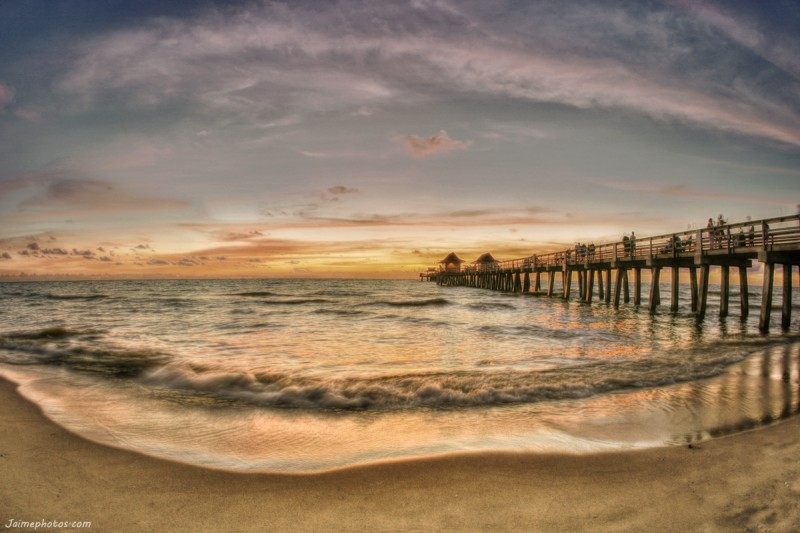 HDR Sunset over Naples, FL