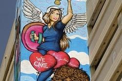 Jackson Hospital Heros Mural