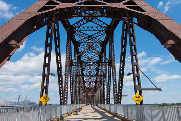 Crossing the Ohio into Indiana