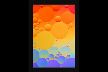 Oil and Water Balloons
