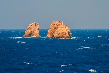 Rough Seas Near Mykonos