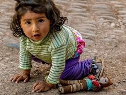 Little Girl from Ollantaytambo