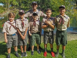 Webelos Boy Scouts