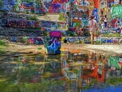 Graffiti Walls-Austin